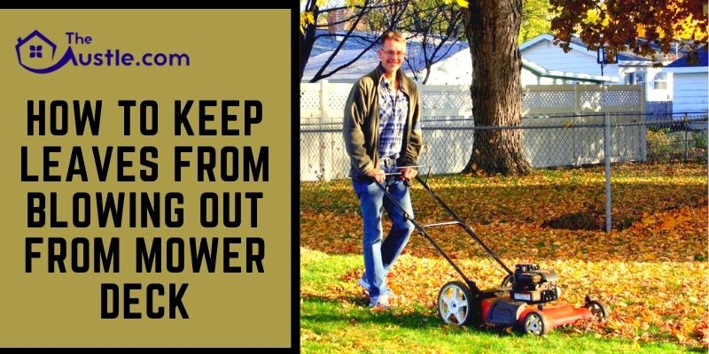 How to Keep Leaves from Blowing Out from Mower Deck