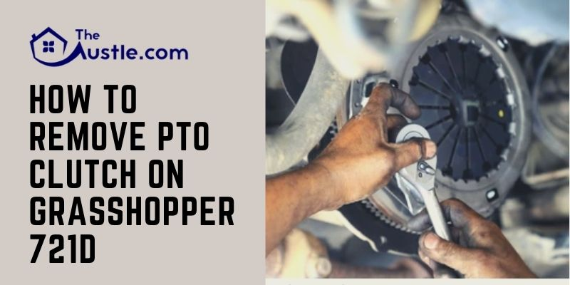 How To Remove PTO Clutch On Grasshopper 721d