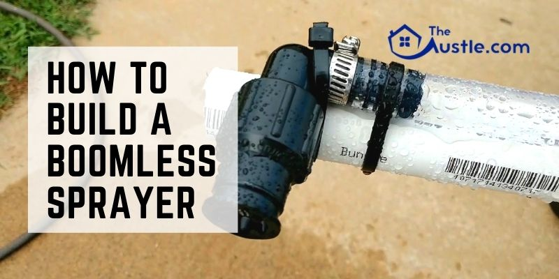 How To Build A Boomless Sprayer
