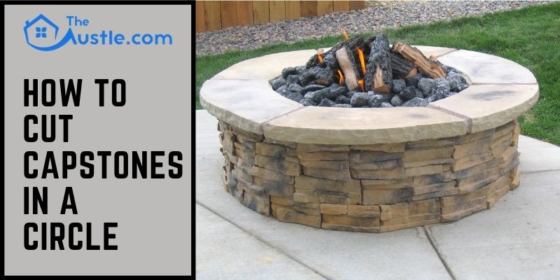 how to cut capstones in a circle