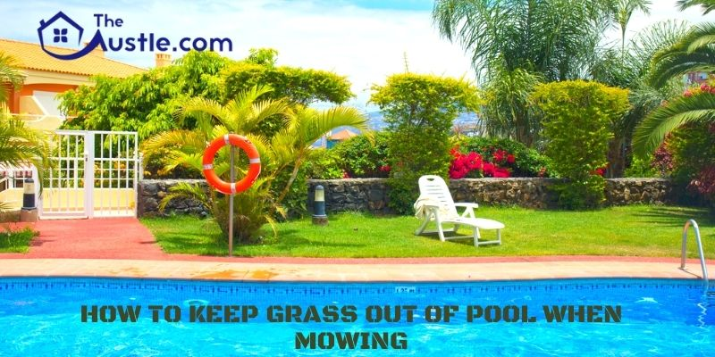 How To Keep Grass Out Of Pool When Mowing