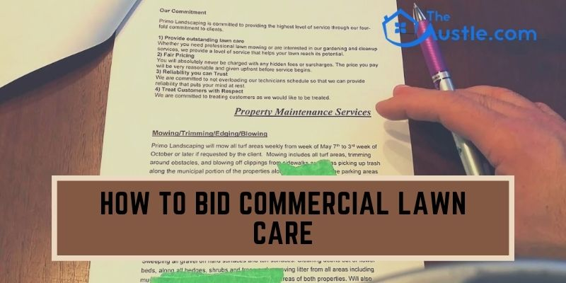 How to Bid Commercial Lawn Care