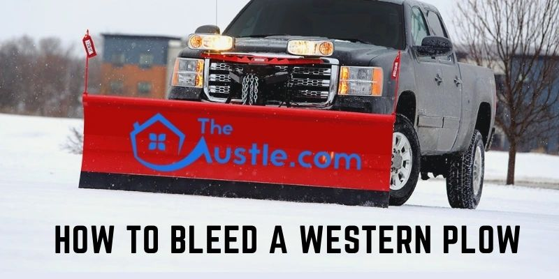 How to Bleed a Western Plow